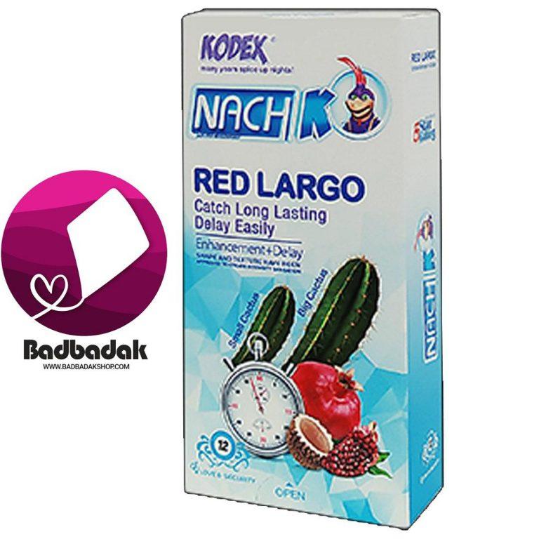 کاندوم کدکس مدل Red LARGO بسته ۱۲ عددی