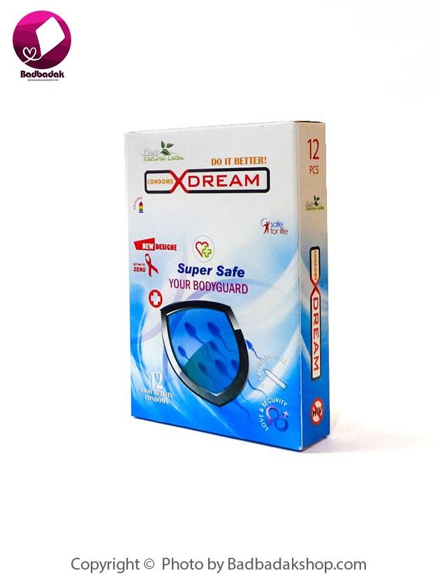 کاندوم بسیار ایمن ایکس دریم مدل Super Safe