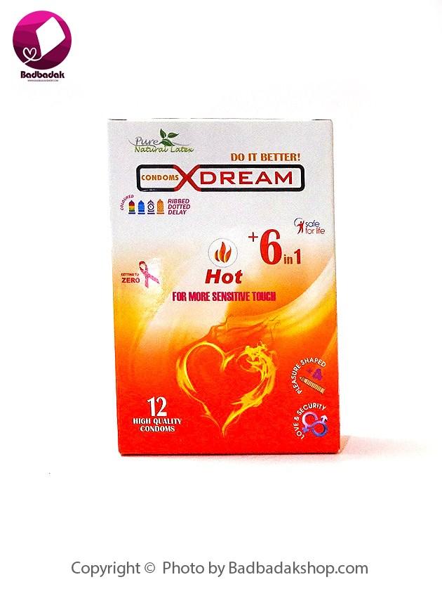 کاندوم هات کننده ایکس دریم – Hot