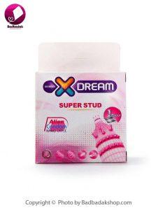 کاندوم فضایی دکمه دار - تحریک کننده بانوان - SUPER STUD