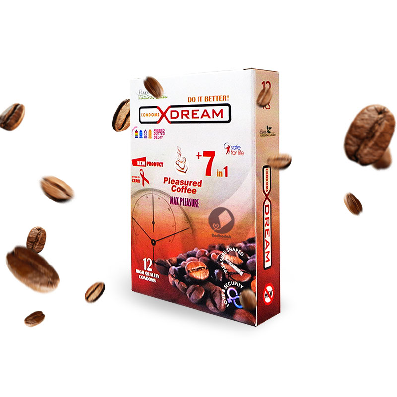 کاندوم 12 عددی قهوه ایکس دریم – XDREAMCoffee