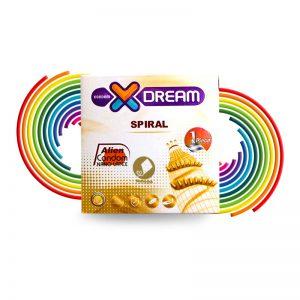 کاندوم فضایی چرخشی-تحریک کننده بانوان-SPIRAL_stimulating female condom