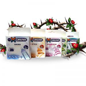 بهترین پکیج 5تایی کاندوم فضایی خاردارایلین_Best Eileen Spice Condom 5 Pack
