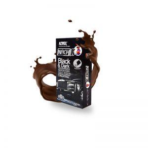 کاندوم ناچ کدکس تاخیری مشکی-Black & Dark_Black Deluxe Code Black Condom