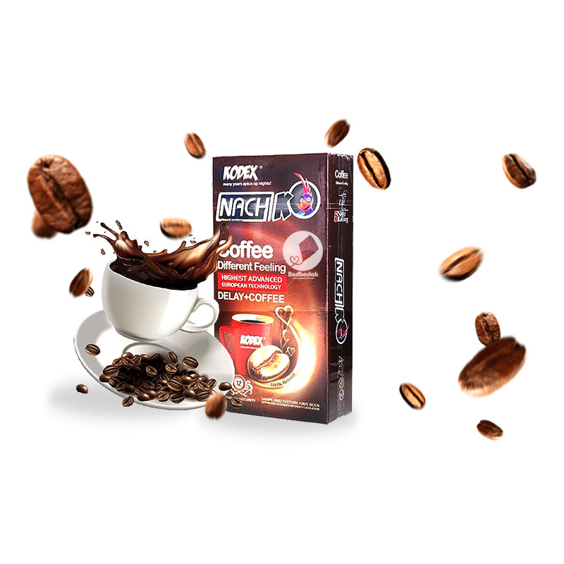 کاندوم ناچ کدکس تاخیری قهوه – Cofffee+Delay
