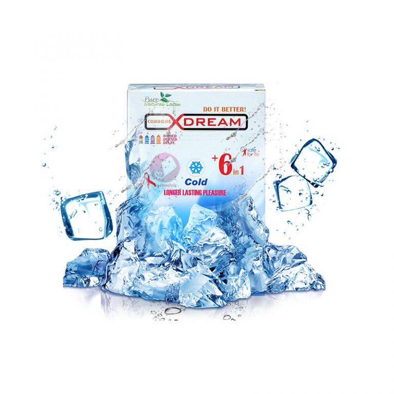 کاندوم تاخیری ایکس دریم سرد مدل Cold
