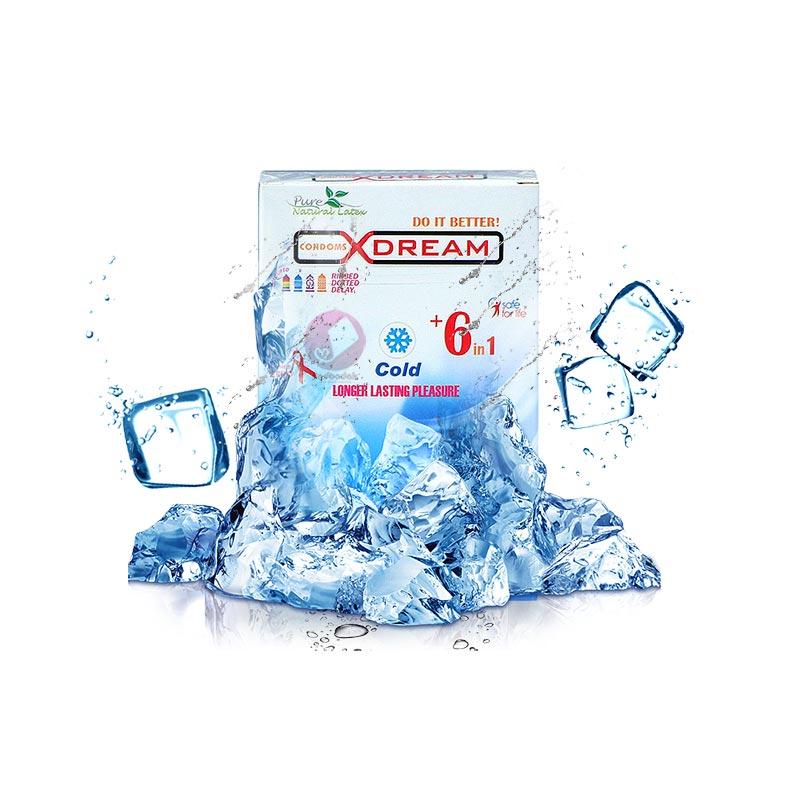کاندوم تاخیری ایکس دریم سرد-Cold