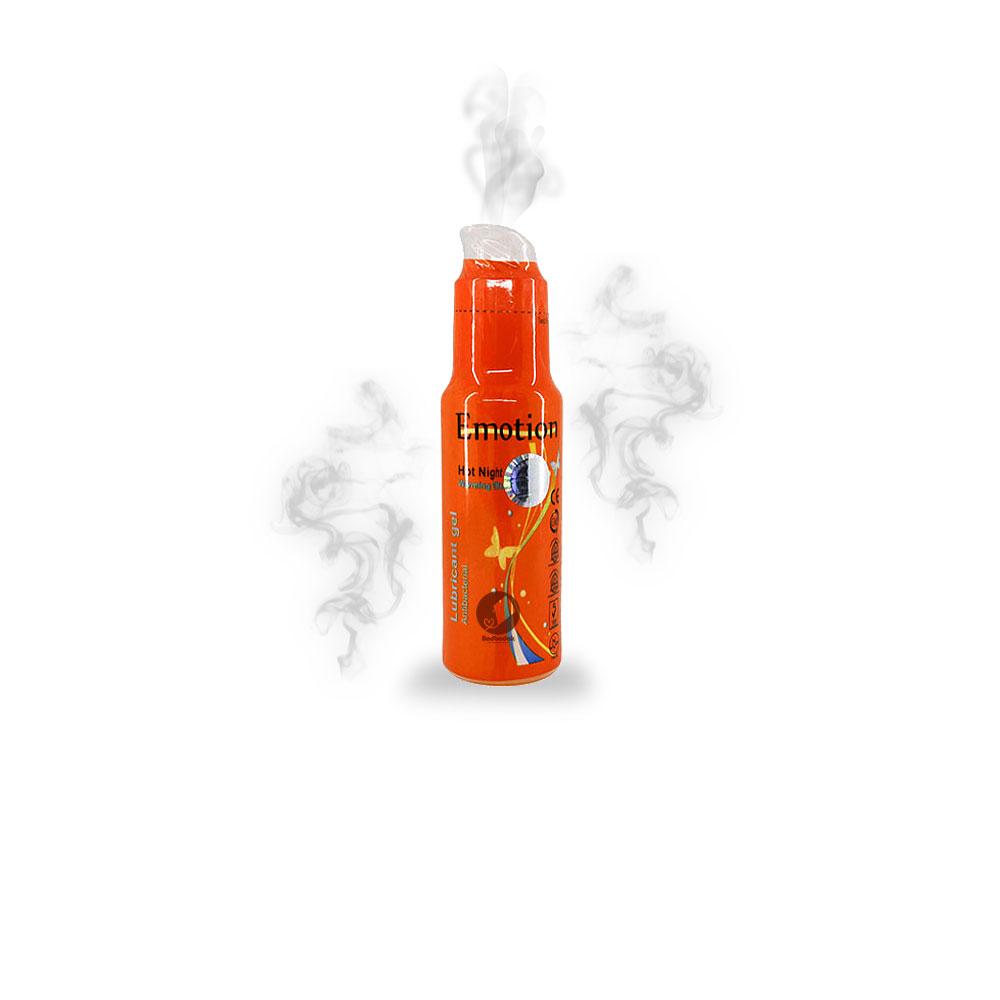 ژل گرم کننده نارنجی لوبریکانت ایموشن – Emotion – hot night