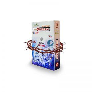 کاندوم خاردار ایکس دریم - Dotted_Threaded Condoms X Dreams