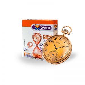 کاندوم تاخیری مضاعف ایکس دریم -Condom Double Delay