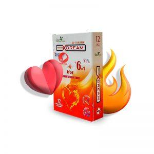 کاندوم هات کننده ایکس دریم -Hot