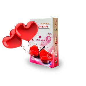 کاندوم لذت طولانی ایکس دریم -Long Love_Long Dream X Dream Condom