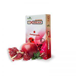 کاندوم تنگ کننده واژن انار ایکس دریم-Pomegranate X-Dream Pomegranate Vaginal Tightening Condom