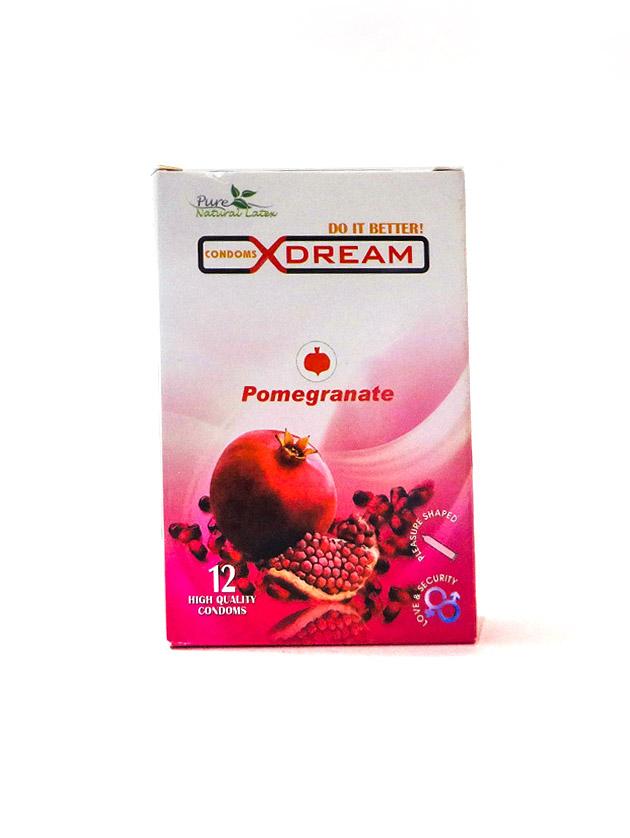 کاندوم تنگ کننده واژن انار ایکس دریم – Pomegranate