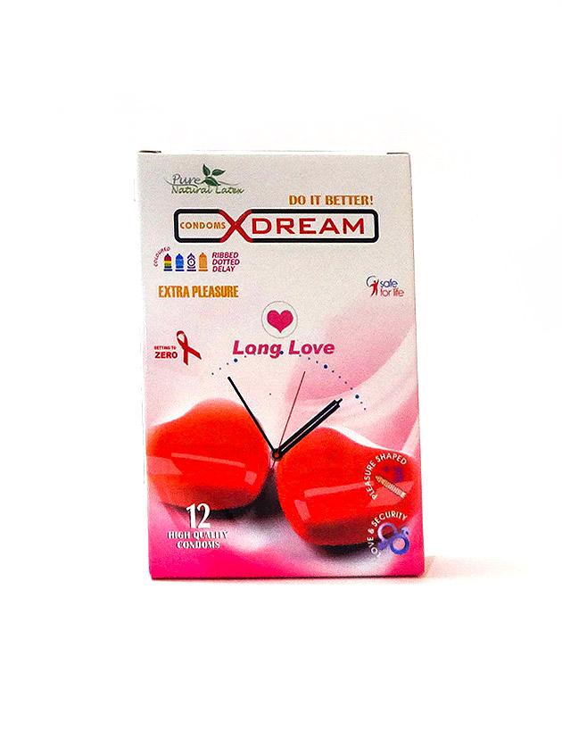 کاندوم لذت طولانی ایکس دریم – Long Love