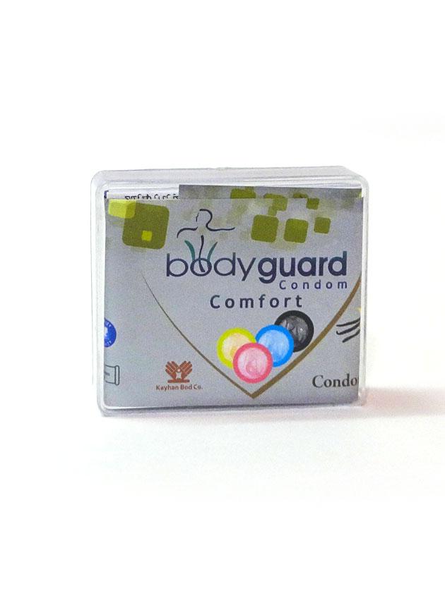 کاندوم وانیلی 4 تایی کامفورت بادیگارد – bodyguard comfort