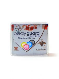 کاندوم تاخیری 4 تایی بادیگارد فیزیکال دیلی – bodyguard Physical Delay