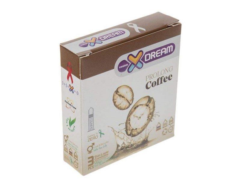 کاندوم سه عددی ایکس دریم مدل تاخیری قهوه