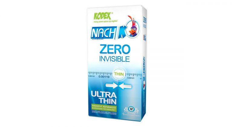 کاندوم 12 عددی کدکس مدل Zero Invisible ( ultra thin ) فوق العاده نازک